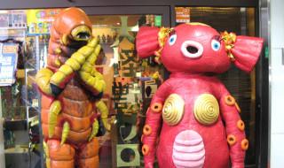 【REPORT】2015年11月3日、東京中野の大怪獣サロンにUMA軍団デスワーム(♀)が出現!