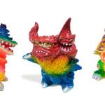 2015年11月21日のデザフェスvol.42のOne up.その1 gumtaroデザインの怪獣が集結!