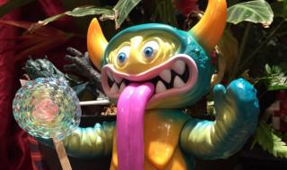 ピコピコ怪獣シリーズ ベッコス エメラルドグリーンVer.(大怪獣サロン限定版)