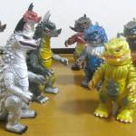 MaxToy怪獣シリーズ アクスロン、ヤモマーク怪獣シリーズ ボグラ(なかよし塗装版)
