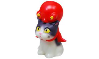 化猫衣蛸・夜光ハチワレ黒