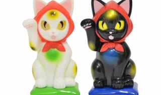 縁起物百貨店オリジナル招き猫 招き化け猫 又之助(デザイン:こなつ)