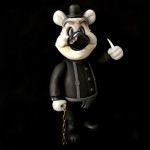 Frank Kozik × BlackBook Toy A Clockwork Carro't Dim mono edition