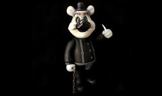 Frank Kozik × BlackBook Toy A Clockwork Carro't Dim mono edition