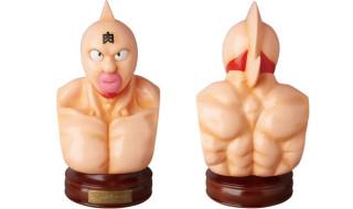 キン肉マン胸像ソフビ (ペイントVer.)