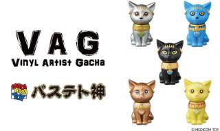 【INTERVIEW】[VAG]第7弾についてお聞きしました!メディコム・トイ編 バステト神製作について