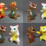 猫怪獣決戦セット