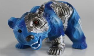 クマボーグ-blue camo