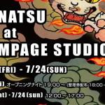 KONATSU at RAMPAGE STUDIOS