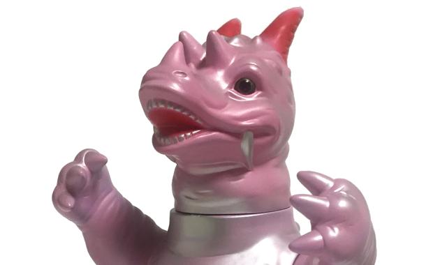 マルサンのソフト怪獣シリーズ パゴス450昭和ピンク