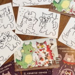 "「KONATSU × UAMOU EXHIBITION""ESCAPE FROM EARTH""」"