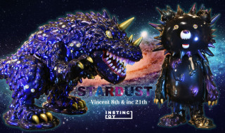 "Vincent 8th color ""STARDUST(Gold Horn ver.)""、inc 21st ""STARDUST"""