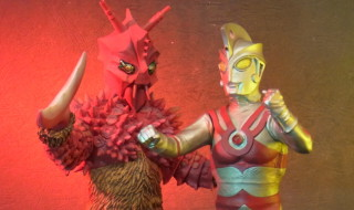 大怪獣シリーズ ウルトラマンエース 異次元空間対決セット 少年リック限定商品