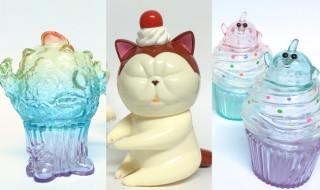 "refreshment toyが「""THE BAD NEWS""RAD UNCLES」としてグループ出店! 最新作「ZOMBIE CUPCAKE」ほかの新色準備中!"