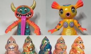 怪獣芸術家ピコピコ氏ハンドペイント情報第3弾