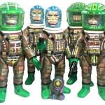 """未来猿人ヤマキチ ヤマキチ Kenth Toy Works ワンオフ・カスタム """"Tribal Hunter"""" TTF限定"""