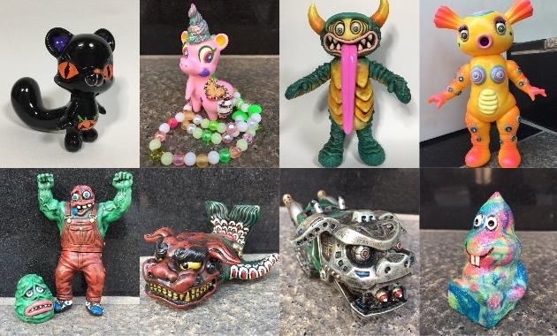 先日の「TTF2016」で発売された怪獣芸術家ピコピコ氏のカスタムが新たにカフェバー・大怪獣サロンに登場!