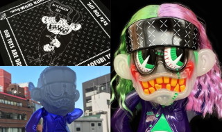 "BlackBook Toyが「S""K""UM-kun」の新色「Supervillain 2nd edition」を発売開始"