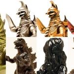 2016年10月31日締切のマルサン通販受注発売情報! 第3弾は[マルサンの世紀の東宝怪獣シリーズ]から「ガイガン」「ゴジラ」「ヘドラ」「メガロ」だ!