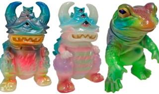 2016年10月28日にショップ・One up.AKIBAカルチャーズZONE店5周年記念で怪獣作家gumtaro氏の「ガジョラ」&「ケロンガ」カスタムを発売!
