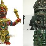 「Taipei Toy Festival 2016」へ出店する怪獣芸術家ピコピコ氏はオークションへ多数出品