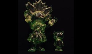 sio/ENIGMAが「MAHARAJA」と「ENIGMA」の「clear Green」を発売