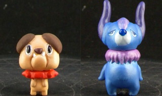 KAZUMAくんの「Boris puppy」と「PUDONG DAN Ver」