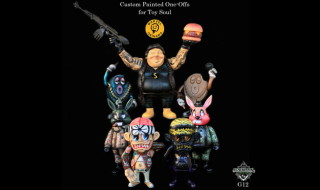 2016年12月16日から香港にて開催の「TOYSOUL2016」出店するBlackBook Toy情報第2弾! 新進気鋭のアーティスト・Marvel Okinawaカスタムを販売!!