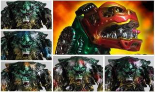2016年12月24日11時よりショップ・One up.AKIBAカルチャーズZONE店にて「Ω(omega)G.I.D MT-GREEN 5 colors.」や「獅子頭ボーグ BLObPUS彩色Ver.」など発売!