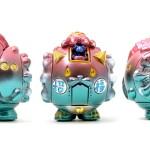 オリジナル招き猫 特別彩色版 マネキマクリマロボ X'mas coloring