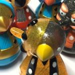 2016年12月17日開催の「よかよか福岡ソフビ万博」にてんぐアートが出店決定! そこで「鳥天狗ソフビ」新色を発売!