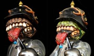 「スーフェス73」とBlackBook Toyで、アーティスト・Marvel Okinawa彩色の「ZombieBall」と「MeatBall」を発売!
