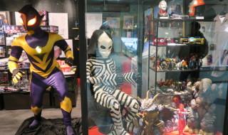 墓場の画廊にて開催中の「ウルトラマン・ディスカバリーズ 〜世界に降り立った光の巨人伝〜」の新たな展示内容を公開!