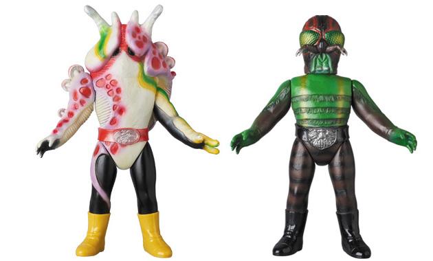 2017年1月24日受注開始! 『仮面ライダー』から「ナメクジキノコ」と「ハエ男」が襲来!