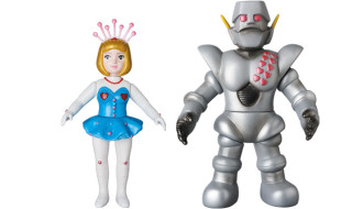 2017年1月24日受注開始! ロボット学校1期生と担任が大集合!! ロビンちゃん&ガンツ先生の登場だぞ