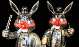Frank Kozik × BlackBook Toy A Clockwork Carrot Lil Alex Darkness edition