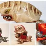 2017年2月19日の「WF2017冬」に怪獣芸術家ピコピコ氏も出店! 「ギョザラ」がこんがり焼けてますよ!!