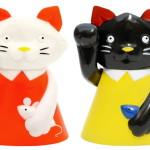 縁起物百貨店オリジナル招き猫 KUTANI MANEKI(KONEKO/KURONEKO)