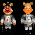 Frank Kozik x BlackBook Toy A Clockwork Carrot Dim Milk edition