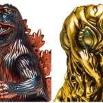 緊急告知! 本日より開催の「GODZILLA GENERATION 3ILLUSTRATOR's 咆哮」でマルサン限定「ゴジラ」&「ヘドラ」にシークレットあり!