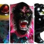 2017年3月20日の「第6回ドキドキ大阪ソフビ万博」へBLObPUSが参戦! 人気ソフビへのBLObPUS彩色版やヤモマークとのコラボ作を発売!
