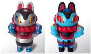 「DYNAMIC 豪!50!GO!」で照紗氏の「郷土玩具怪獣イヌハリゴン マジンガーZ&デビルマン カスタム」を抽選受付中だ!