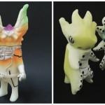 2017年3月20日の「第6回ドキドキ大阪ソフビ万博」でukyDaydreamerが「ネクロイ」&「オクトリアン」蓄光版を発売!