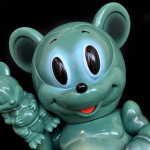 Ron English × BlackBook Toy Mousezilla OG