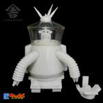 未来猿人ヤマキチ 全自動収穫ロボット タゴサク(SAL9000専用コクピット付)白無彩色