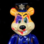 Frank Kozik × BlackBook Toy A Clockwork Carrot Dim A.C.A.B edition