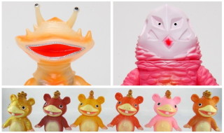 2017年4月10日締切のブルマァク通販は新規造形シリーズ「ちびブースカ」を始め「カネゴン蓄光版」「ザラブ星人ピンク」発売!