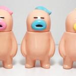 アレの見守りソフビ人形【BABYs】(Pink、Blue、Yellow)