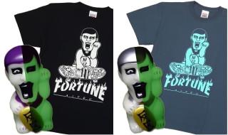 2017年5月19日12時よりショップ・arktz × PUNK DRUNKERS「あいつフォーチュン」Tシャツ&フィギュアセットを予約受付開始!