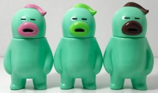 アレの見守りソフビ人形シリーズ2017 アレの見守りソフビ人形【MINTs】 (STRAWBERRY MINT、MELON MINT、CHOCOLATE MINT)